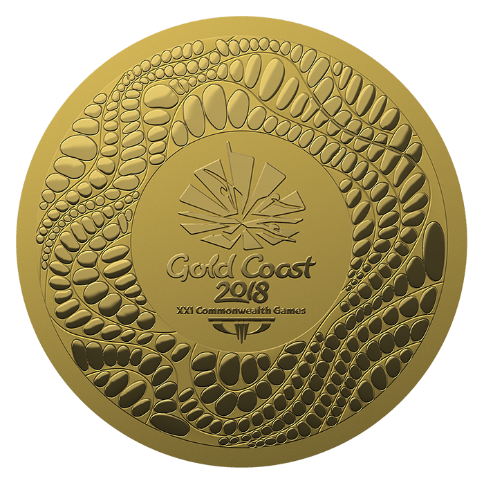 Medals Gold Coast 2018 Commonwealth Games