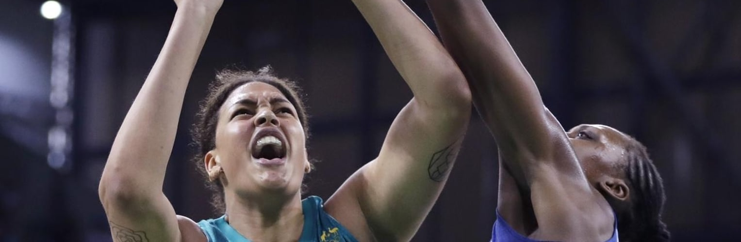 Liz Cambage will headline the Opals' Commonwealth Games team while Australia's Boomers will be made of entirely NBL players. - AAP