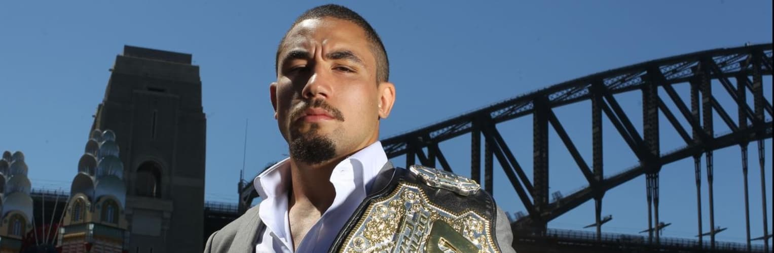 Undisputed UFC champion Rob Whittaker has recovered from his health nightmare and is building up to April's Commonwealth Games wrestling competition. - AAP