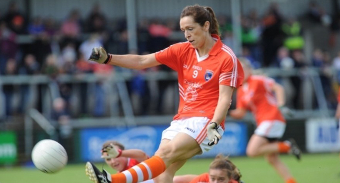 Caroline O'Hanlon is a three-time All-Star in Gaelic Football.