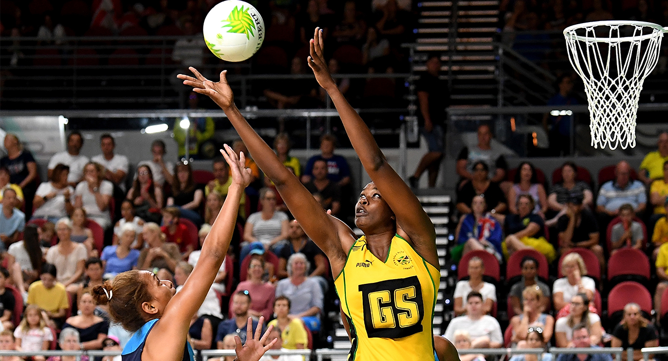 Jamaica get off to a good start in the netball.