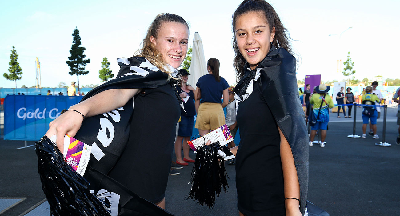 New Zealand represents at the Rugby Sevens
