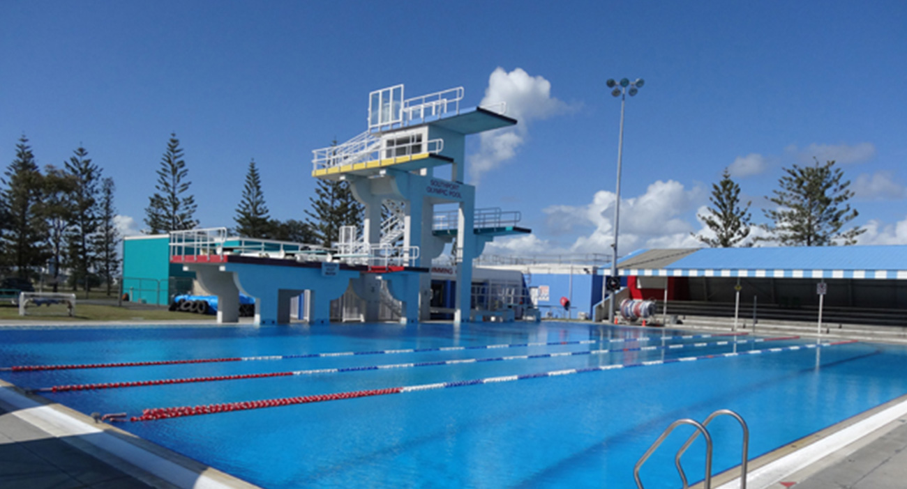 Gold Coast Aquatic Centre pool 2012