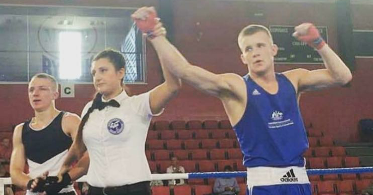 Liam Wilson dominated at the Australian Elite Boxing Championships.