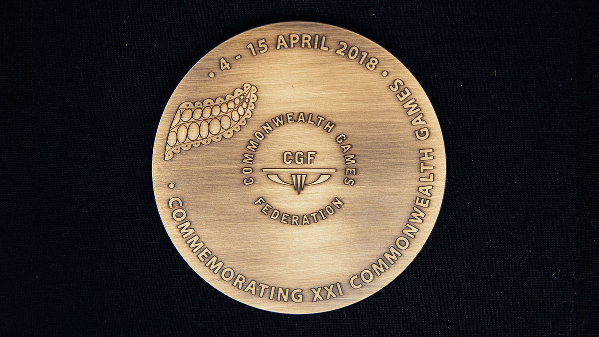Commonwealth Games 2018 Gold Medal