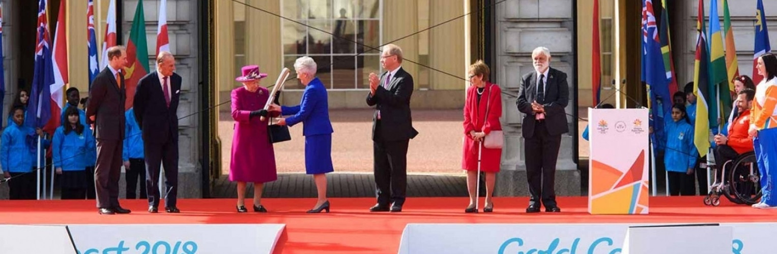The Queen's Baton Relay is enroute to GC2018!