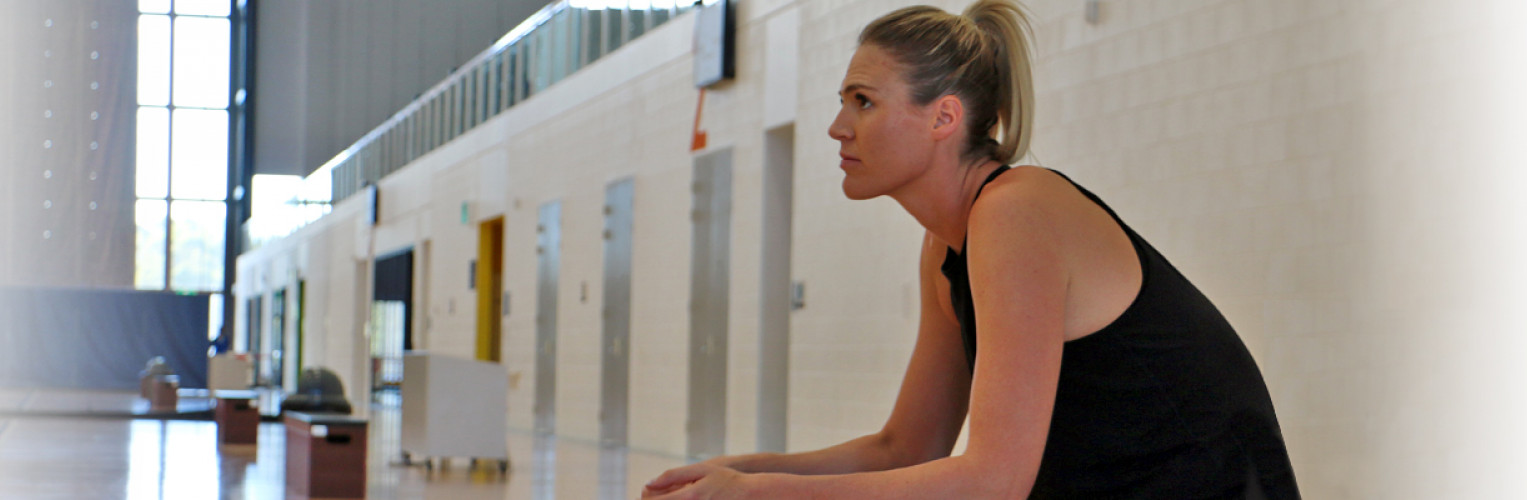 Australian Diamonds netball player Caitlin Bassett says mental training is just as important as physical training.