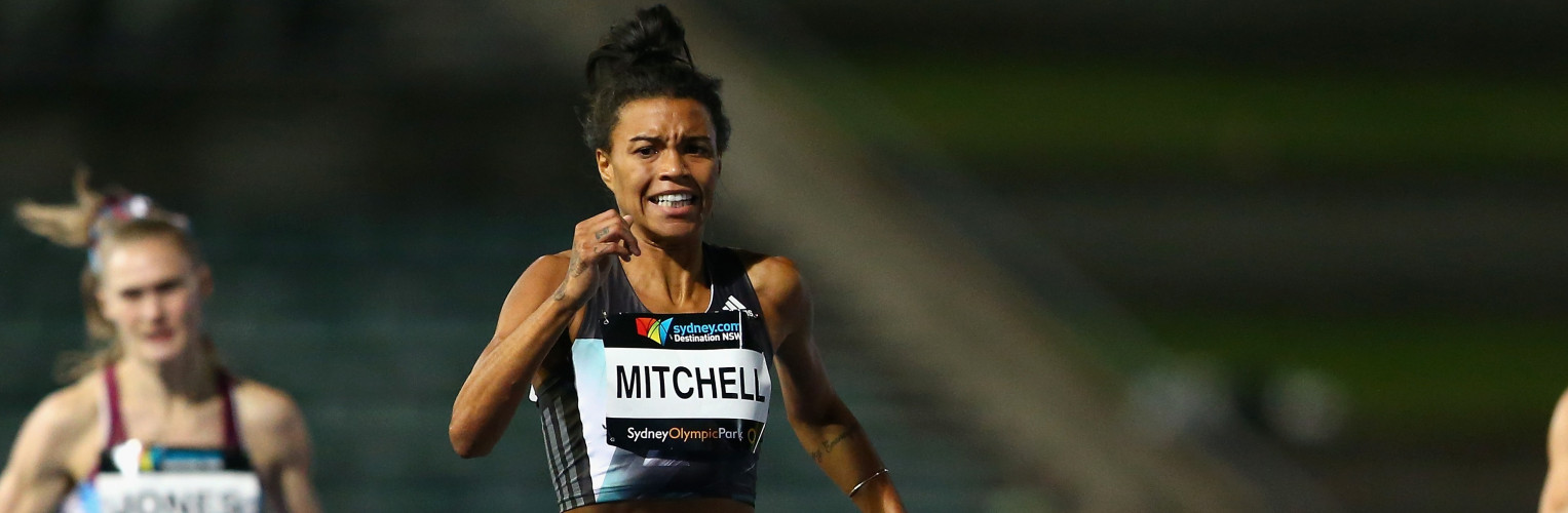 Morgan Mitchell is a three-time Australian champion in the 400 metres.