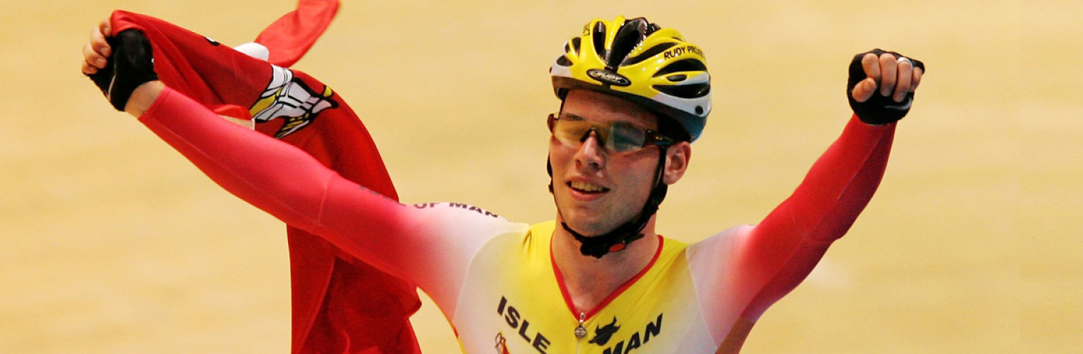 Mark Cavendish won gold for the Isle of Man at the Melbourne 2006 Commonwealth Games.
