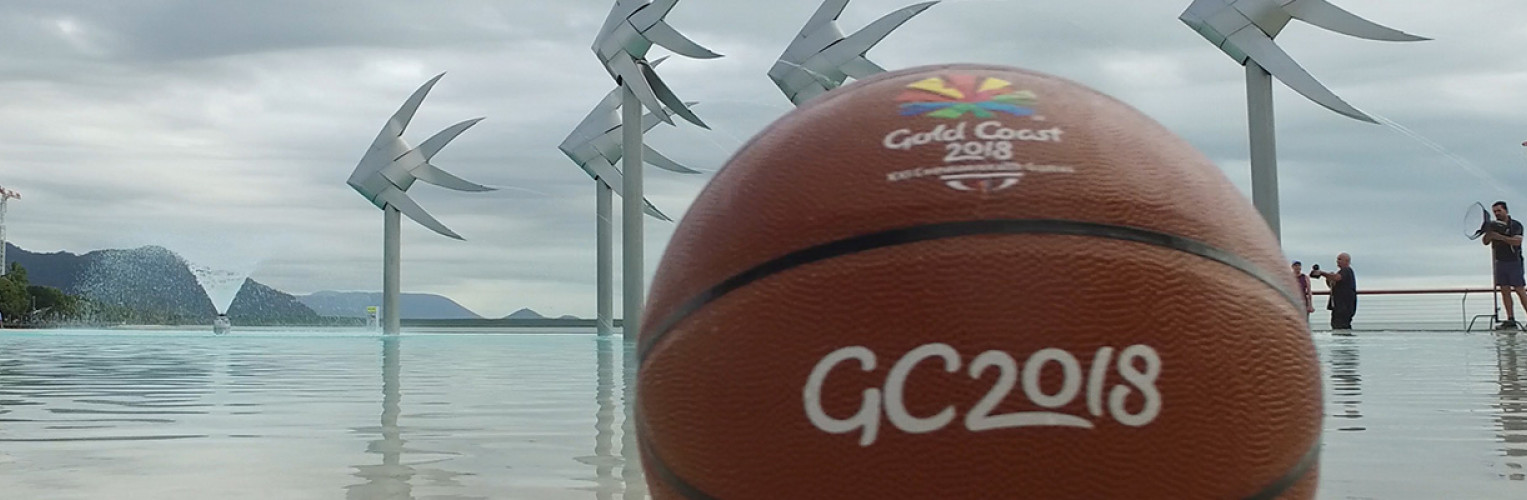 A GC2018 Basketball at the Cairns lagoon
