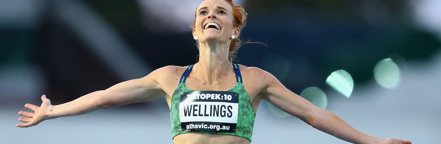 Eloise Wellings has been announced in the Australian athletics team.
