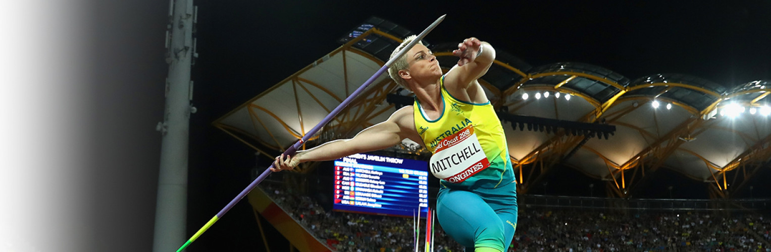 Australian Kathryn Mitchell broke the Commonwealth Games and Australian record.