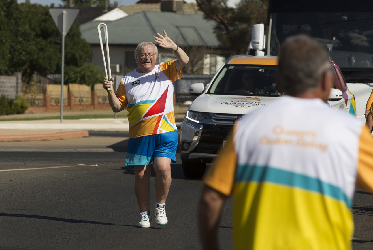 A Batonbearer with the Baton in Griffith