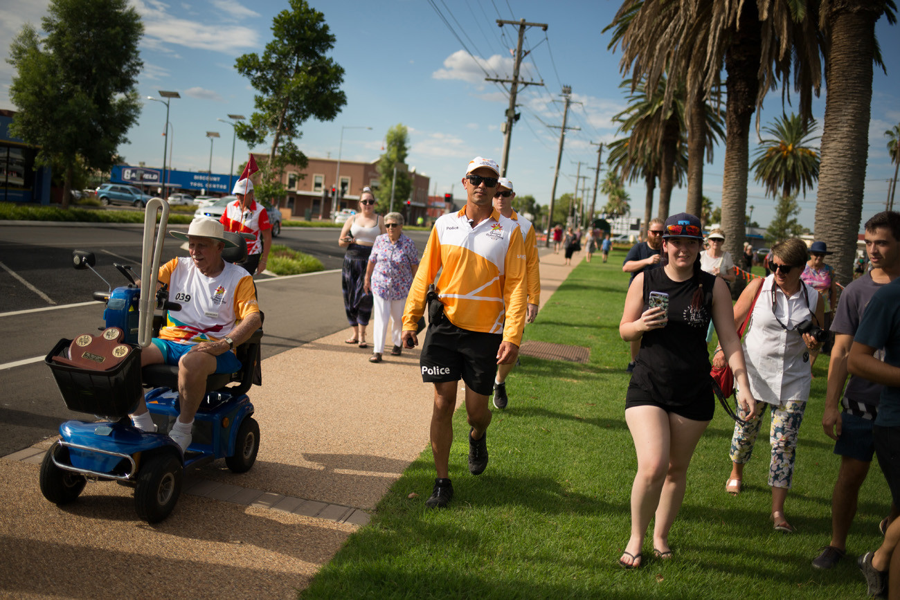 QBR visits Dubbo | Gold Coast 2018 Commonwealth Games