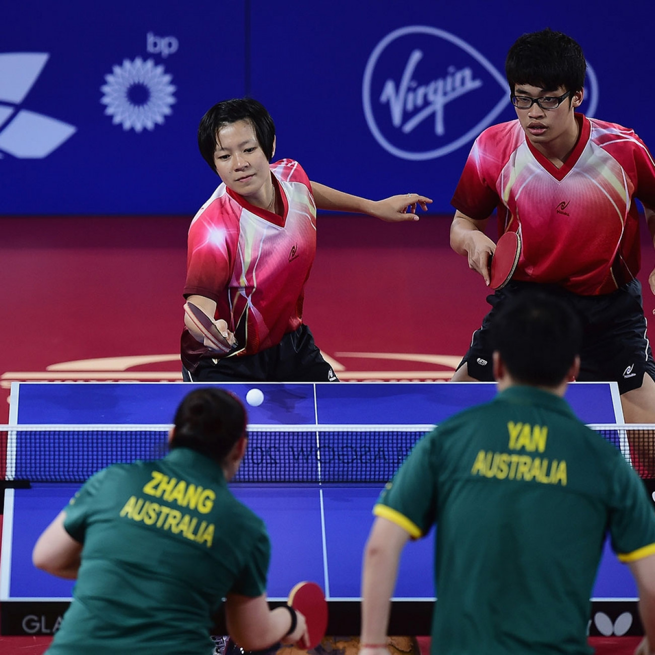 Table tennis gold coast 2018 commonwealth games - International table tennis federation ittf ...