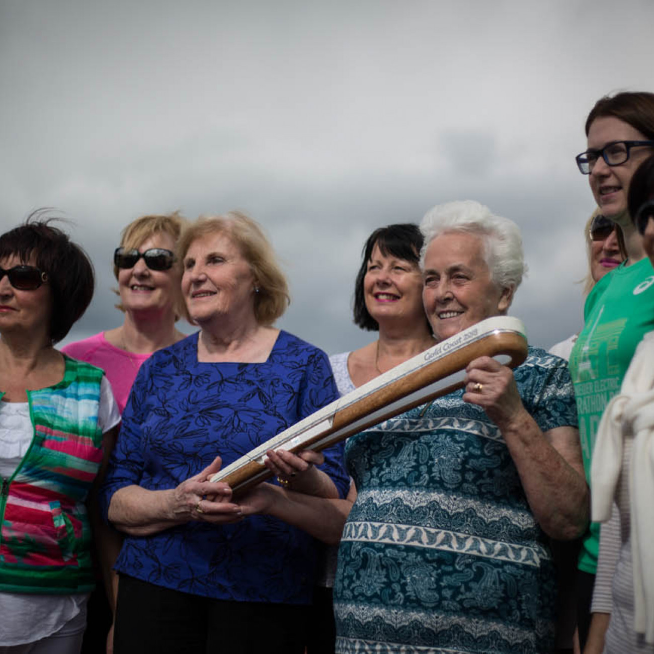 The Queen's Baton was received at St. Colman's Sports Complex, in Newry, in Northern Ireland, on 30 August 2017.