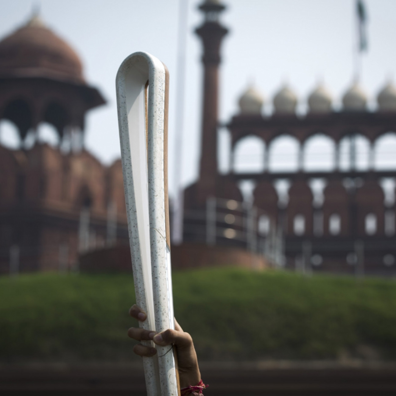 The Baton at the Red Fort complex during a visit by the QBR to the World Heritage centre