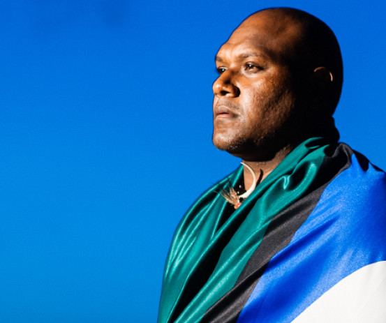 Hip hop artist Patrick Mau is proud of his Torres Strait Islands background.