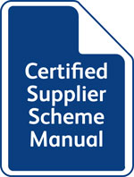 Certified Supplier Scheme Manual
