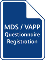MDS / VAPP Questionnaire Registration